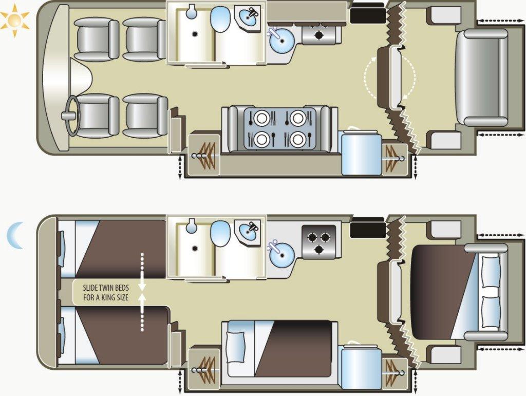 Adventurer 4 Motorhome - 6 Berth - Fraserway Vehicle Information