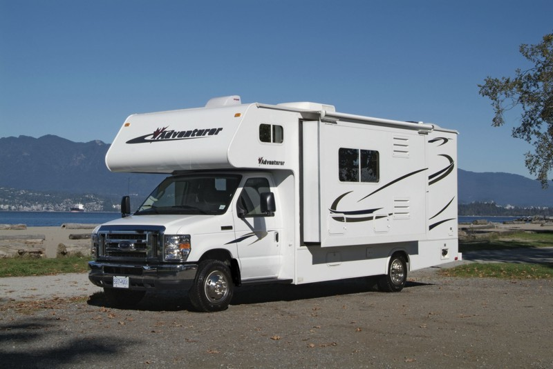 C Large RV - 24ft Motorhome Slideout, 5 Berth Fraserway ...