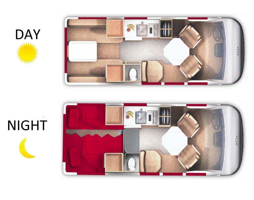 19 Deluxe Camper Van 2 Berth Van Owasco Vehicle